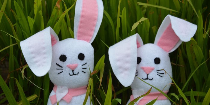 Sock Bunnies – DIY