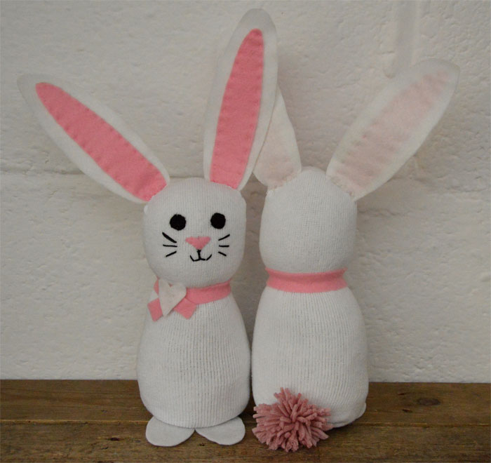 Sock Bunnies - DIY
