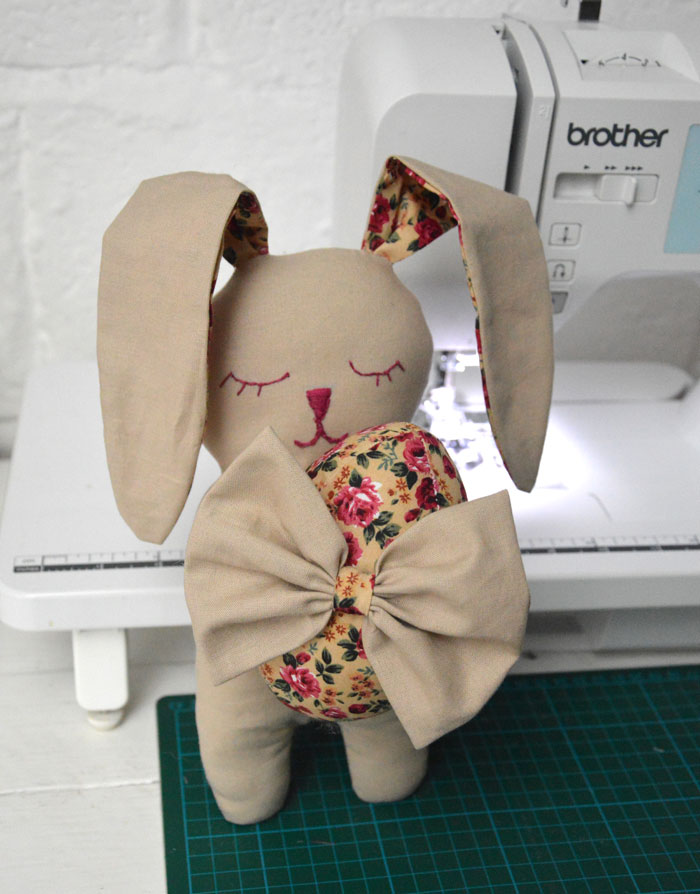 Snuggle Bunny and Fabric Easter Egg