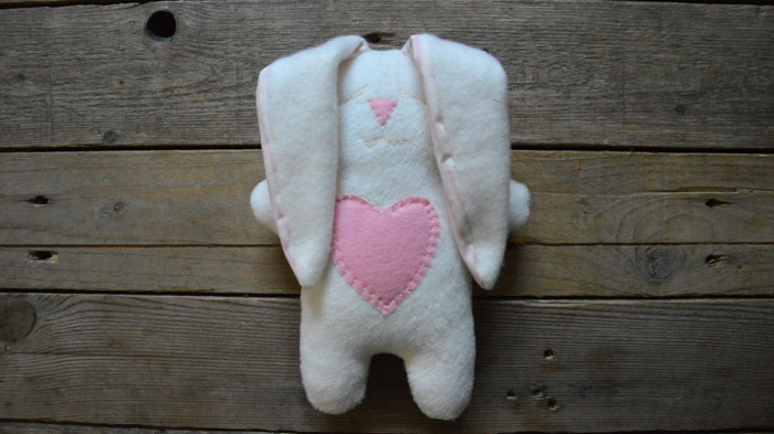 Snuggle Bunny Free Sewing Pattern & Instructions