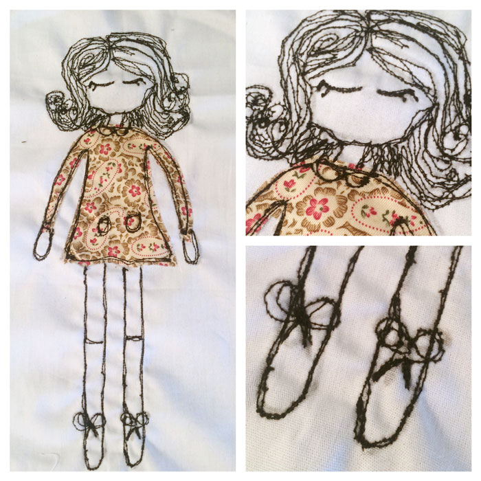 dolly embroidery
