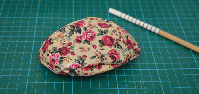 Fabric Easter Egg with Bow Free Pattern & Tutorial
