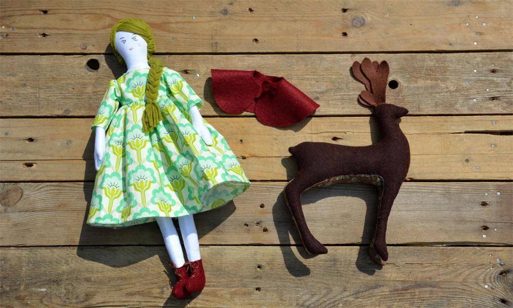 Forest Doll & Deer
