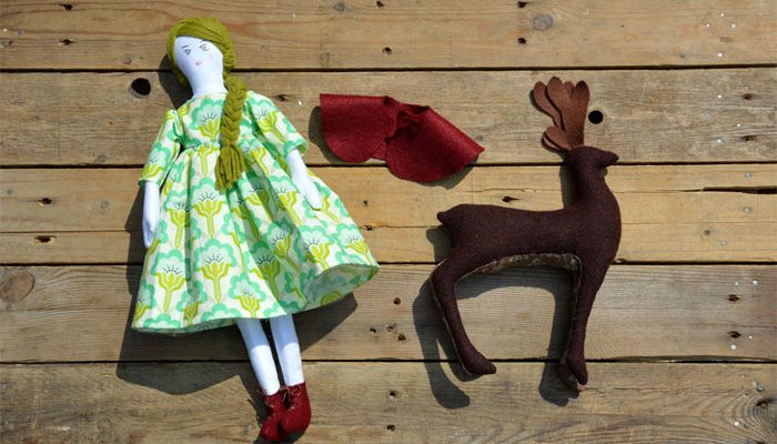 Forest Doll & Deer