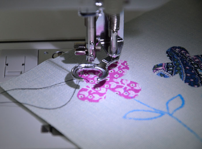 Free Motion Machine Embroidery Tutorial