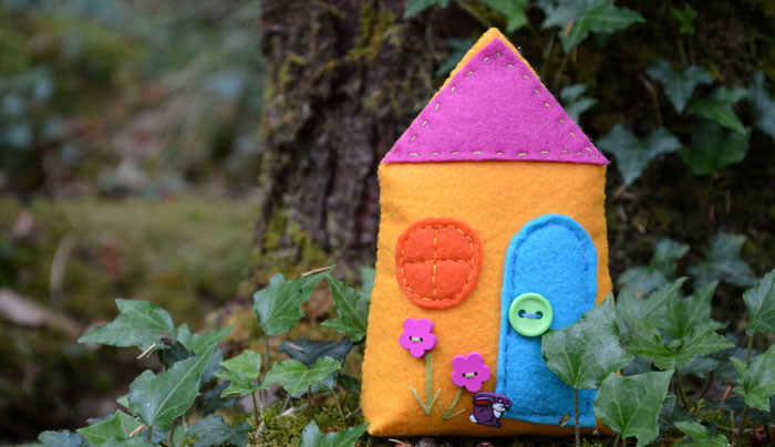 Small Fairy House Free Pattern
