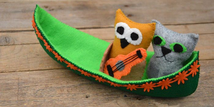 Owl & the Pussy-cat Sewing Pattern & Tutorial