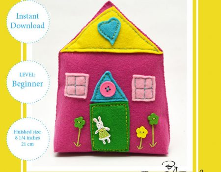 Fairy House Hand Sewing Pattern