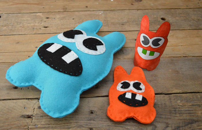 Moley Monster Sewing Pattern