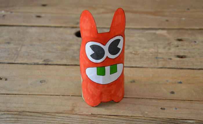 Make a Paper Moley Monster