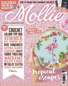 New Sewing Pattern in Mollie Makes