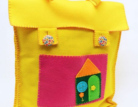 Fairy Story Time Bag Hand Sewing Pattern