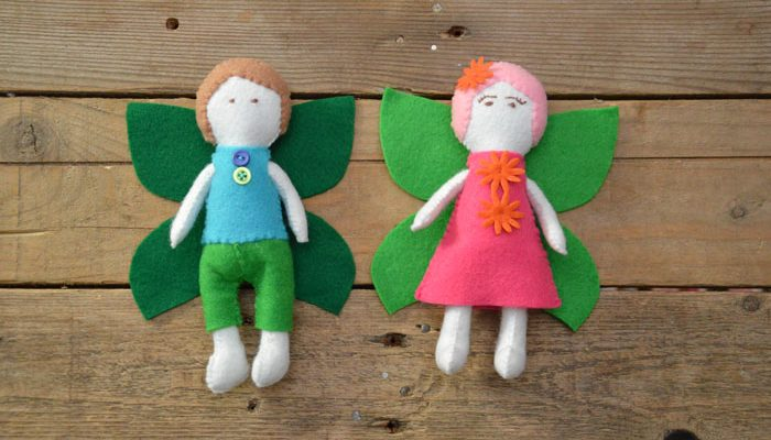 Fairy story time sewing pattern collection
