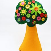 Fairy Button Tree hand sewing pattern