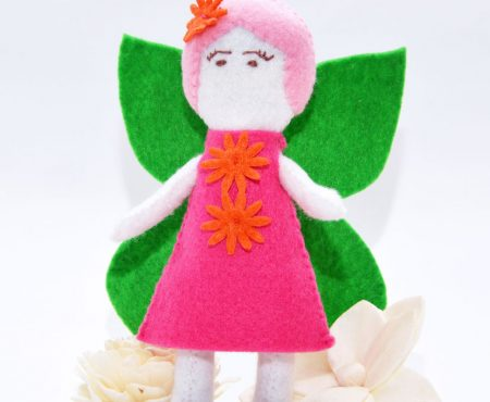 Sew a Softie 2017 – Fairy Doll Pattern