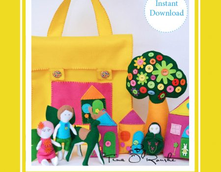 Fairy Story Time Collection Hand Sewing Patterns