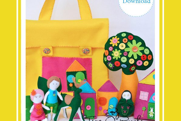 Fairy Story Time Bag Collection Hand Sewing Patterns