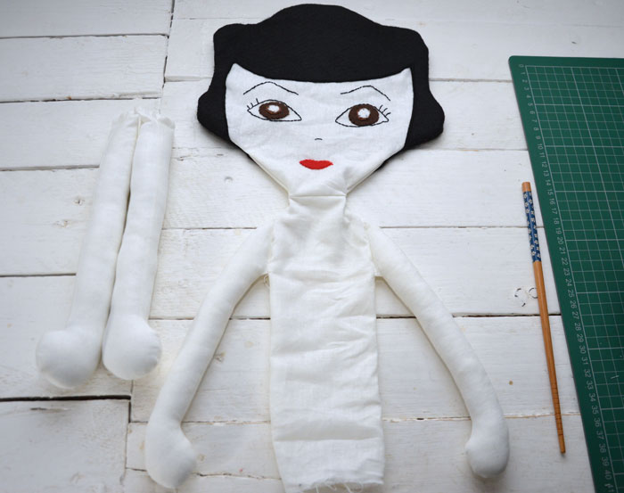 Betty Rag Doll Sewing Pattern