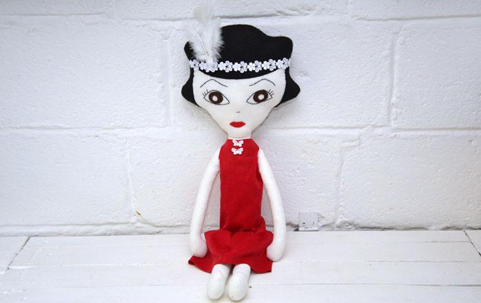 Betty Rag Doll Sewing Pattern
