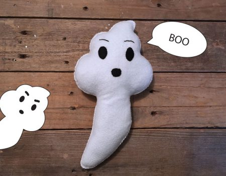 Boo Ghost Softie - Free Sewing Pattern