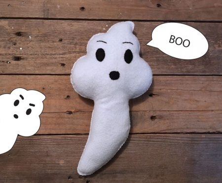 Boo Ghost Softie – Free Sewing Pattern