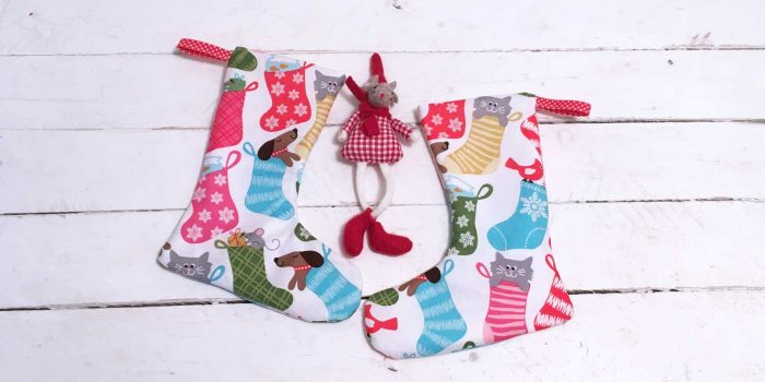 Small Christmas Stocking Sewing Pattern