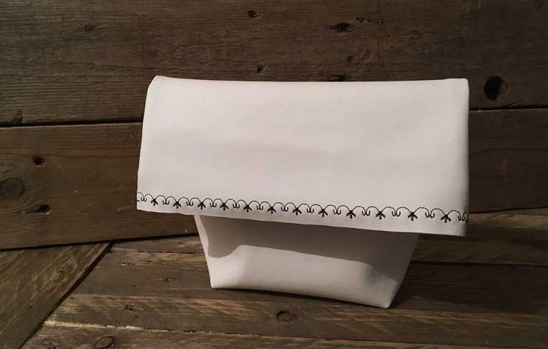 Lunchbag Clutch Free Pattern