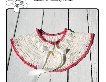 Blossom Collar Crochet Pattern English Terminology