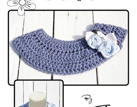 Cleo Collar Crochet Pattern American Terminology