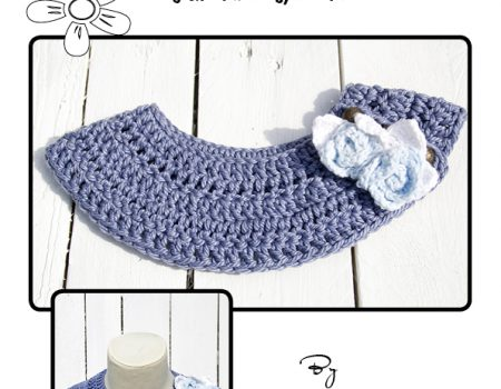 Cleo Collar Crochet Pattern English Terminology