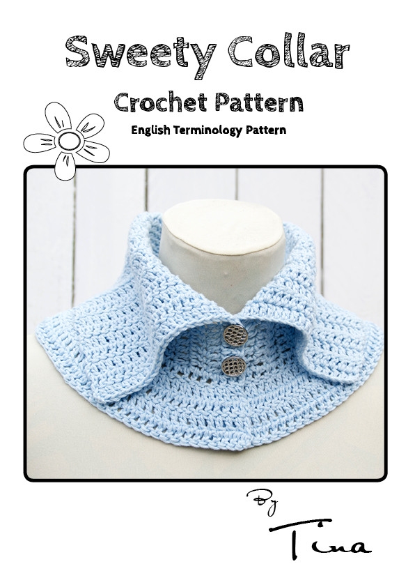 Sweety Collar Crochet Pattern English Terminology