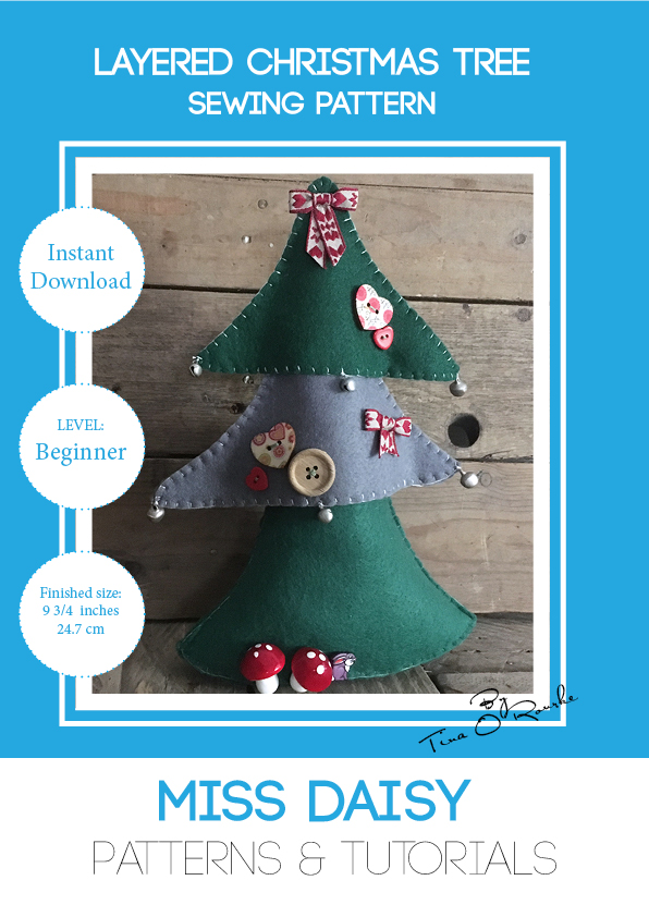 Layered Christmas Tree Sewing Pattern Free