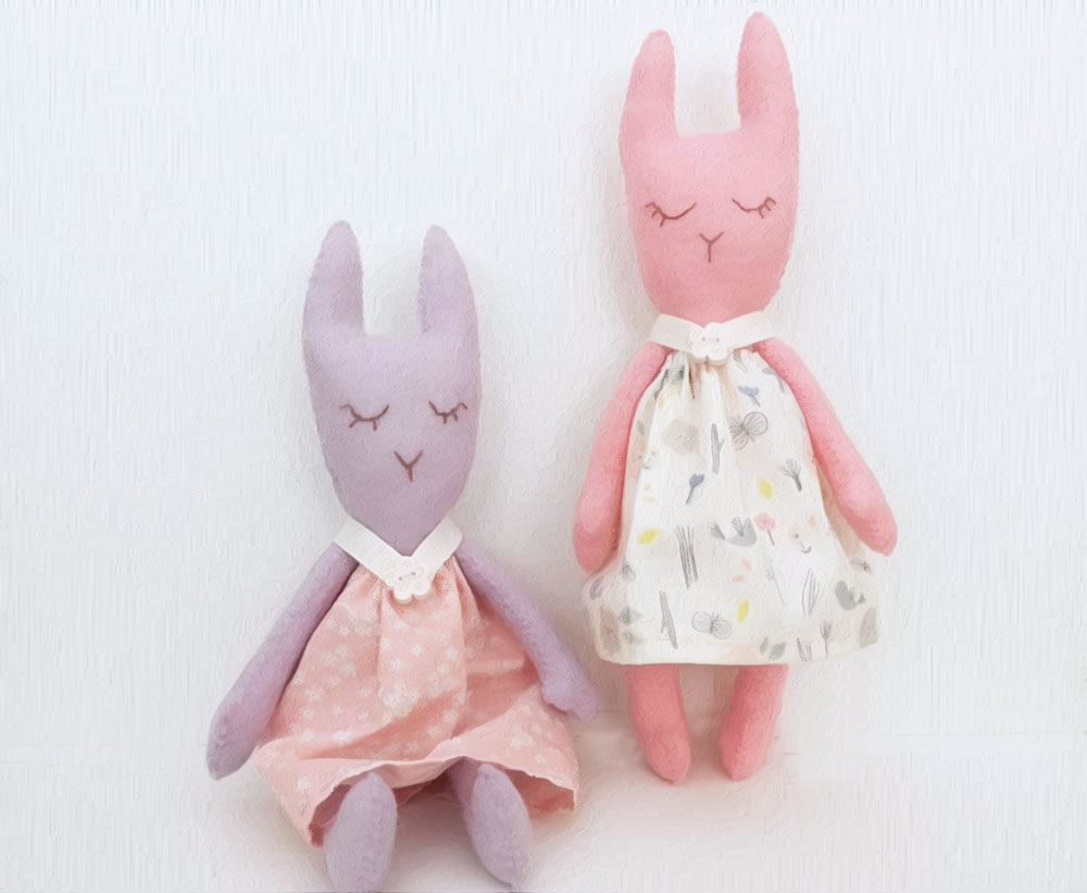 Betty Bunny Sewing Pattern – Sew a Softie 2018