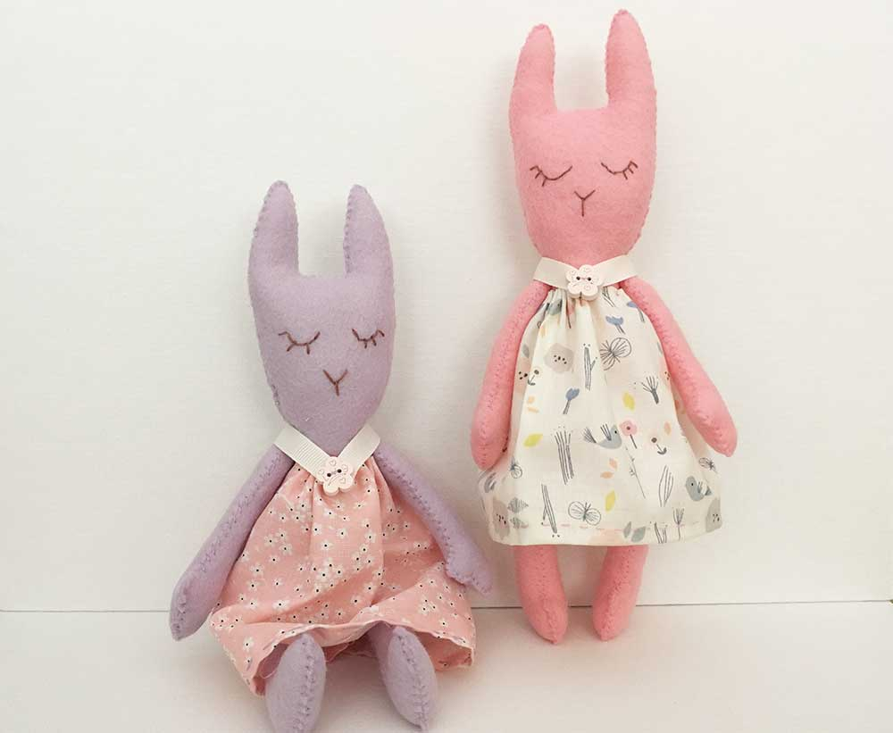 Betty Bunny Sewing Pattern