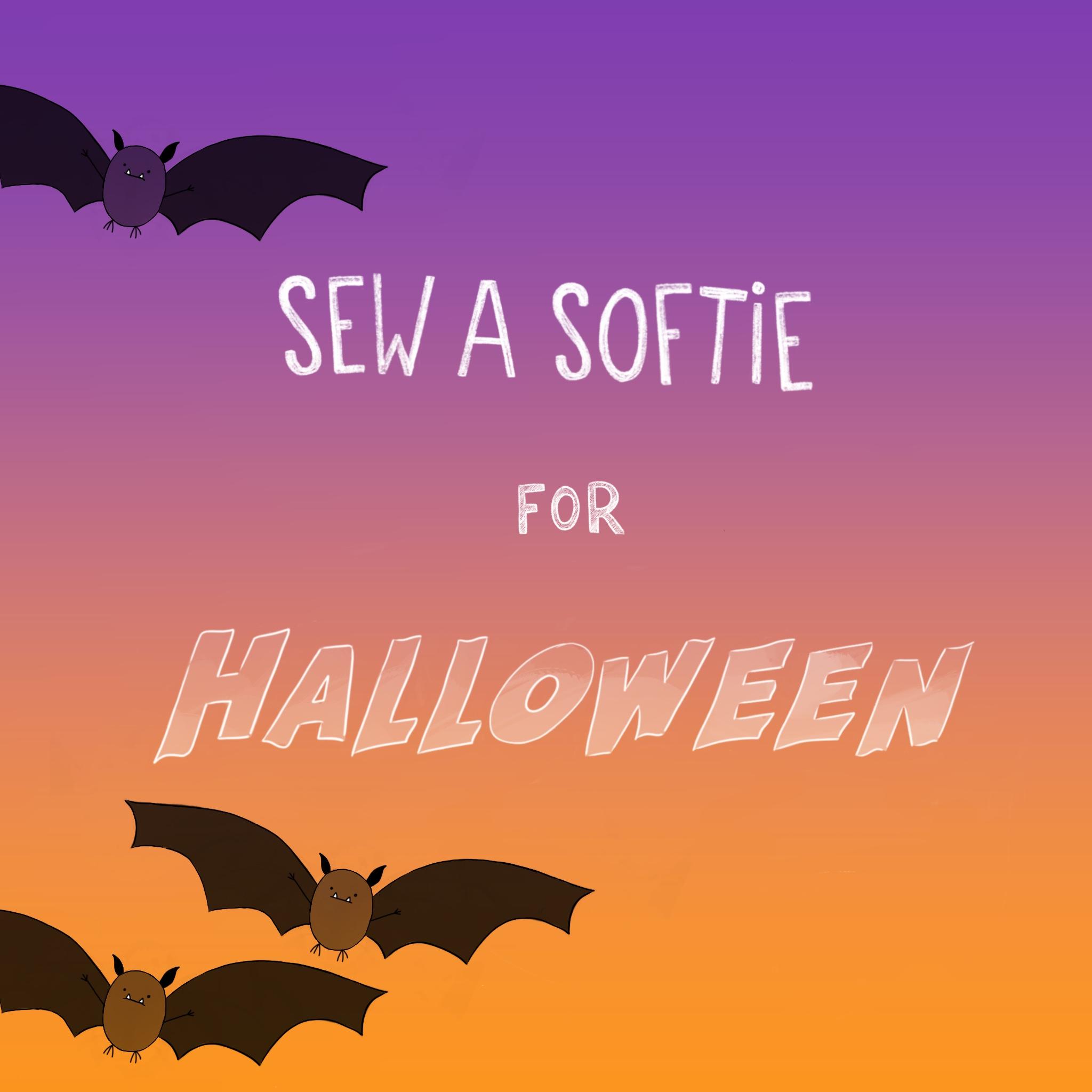 Sew a softie Halloween
