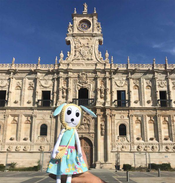 Susu Bunny Doll at Convento de San Marcos, Leon
