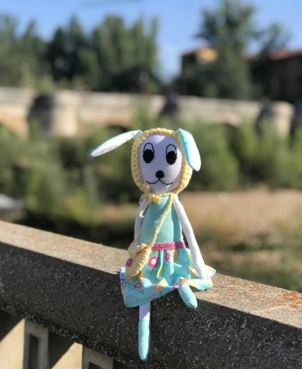 Susu Bunny Doll by the rio Bernesga, Leon
