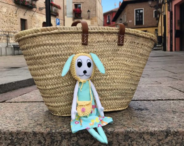 Susu Bunny Doll on vacation in Leon Spain