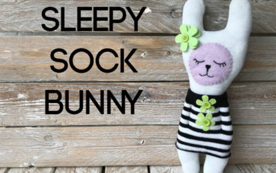 How to Make a Sleepy Sock Bunny