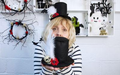 Halloween – Day of the Dead Top Hat DIY
