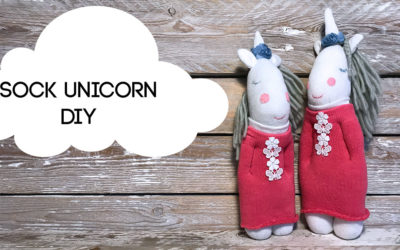 How to Make a Sock Unicorn