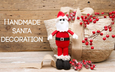 Handmade Santa Decoration